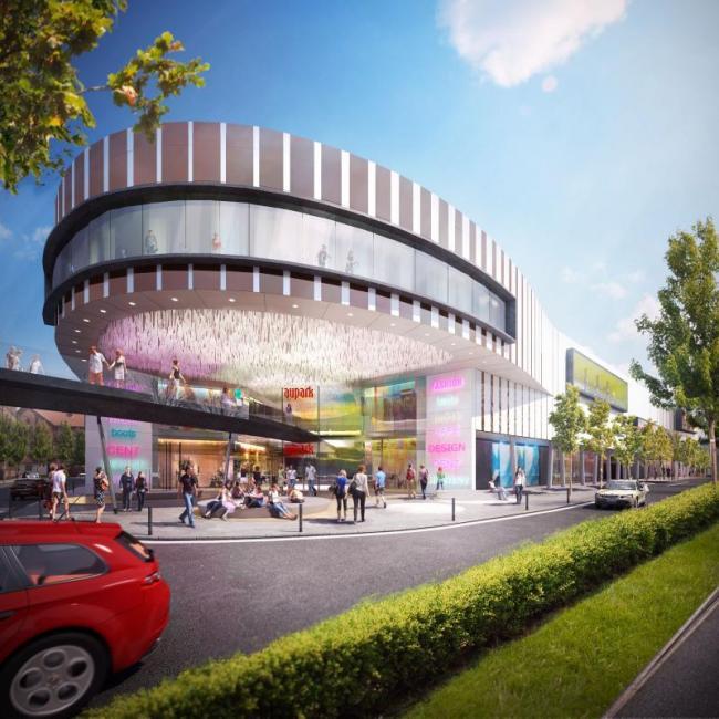 V Brně má vzniknout obří nákupní centrum Aupark. Do středy 29. června 2011 je možné připomínkovat studii.