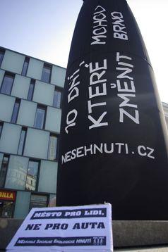 NESEHNUTÍ apeluje na veřejnost, aby změnila Brno