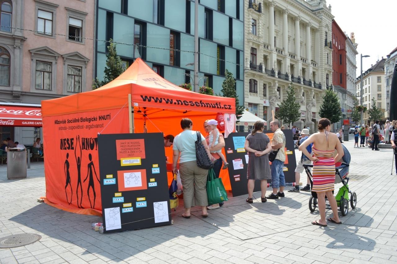 Brno oslaví Den rovnosti žen a mužů na Náměstí Svobody