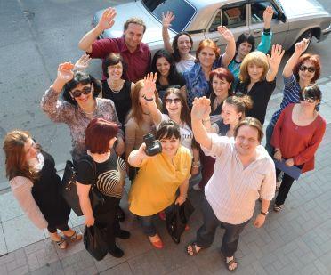 NESEHNUTÍ zahájilo další rok na Kavkaze sérií workshopů pro občanské iniciativy