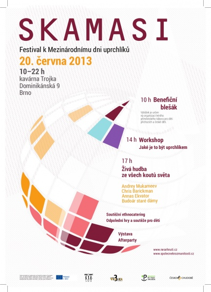 SKAMASI? aneb Mezinárodní den uprchlíků v Brně