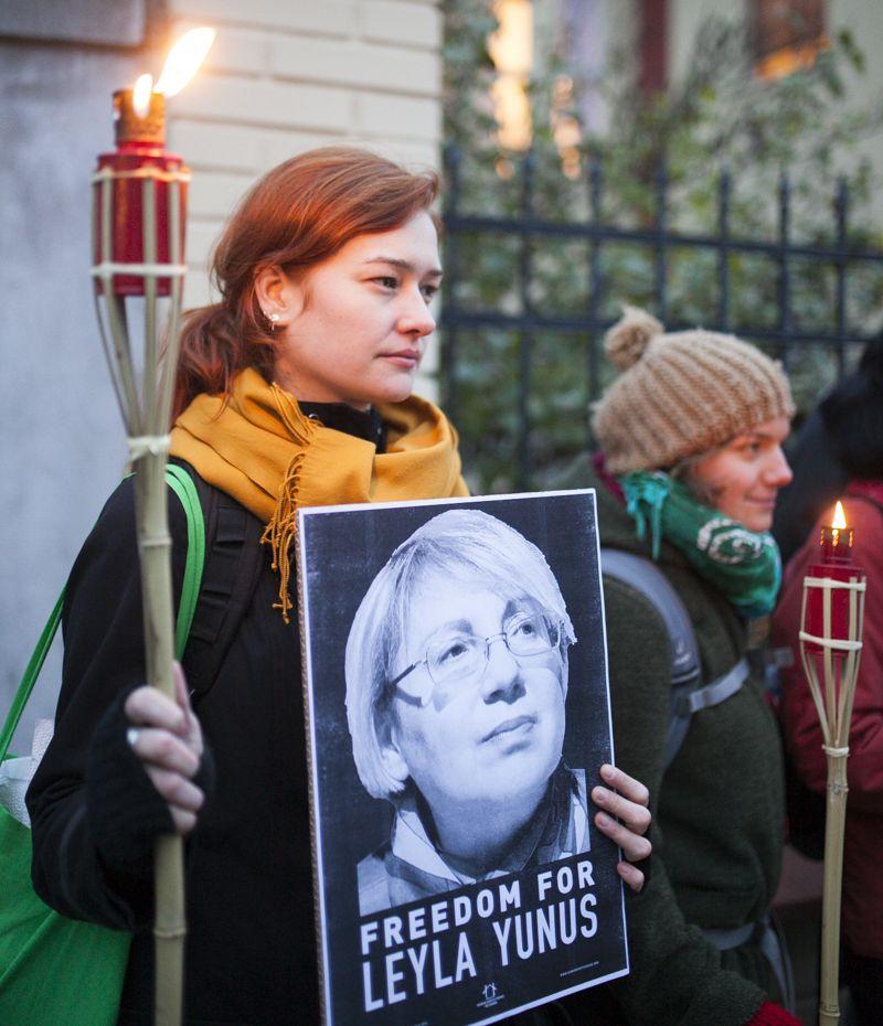 Lidé vyzvali Ázerbájdžán k propuštění politických vězňů
