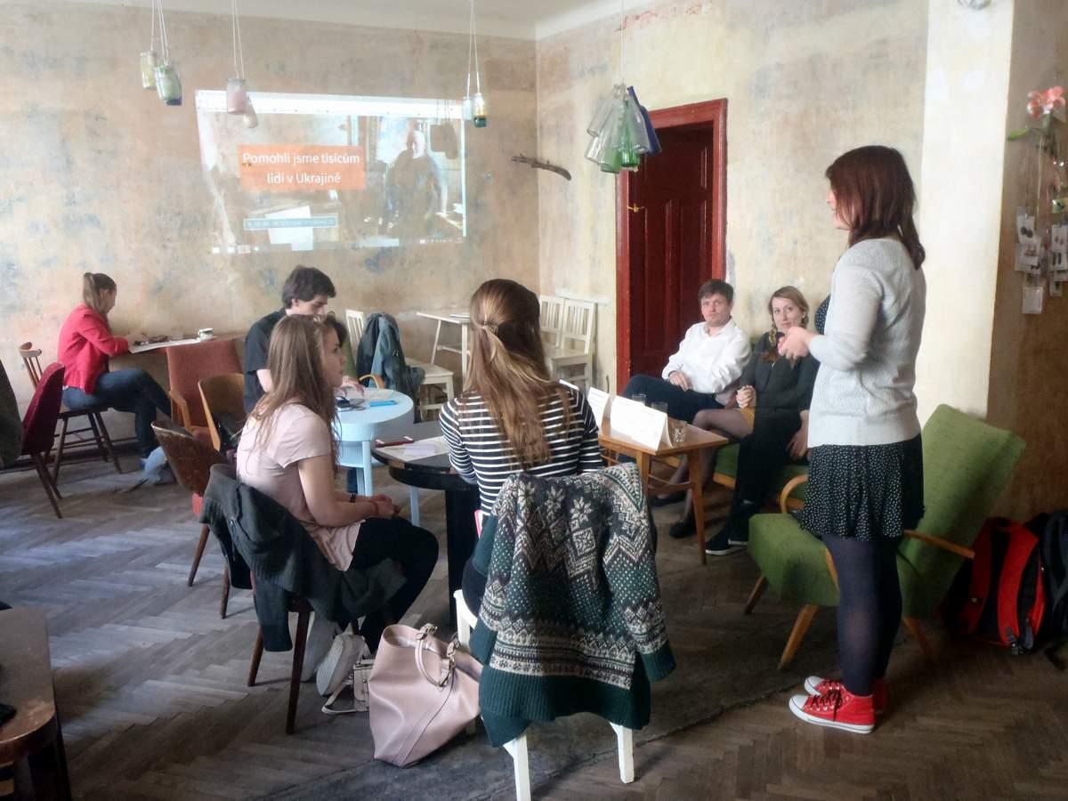 NESEHNUTÍ spouští unikátní humanitární dárcovskou kampaň Chléb pro Charkov