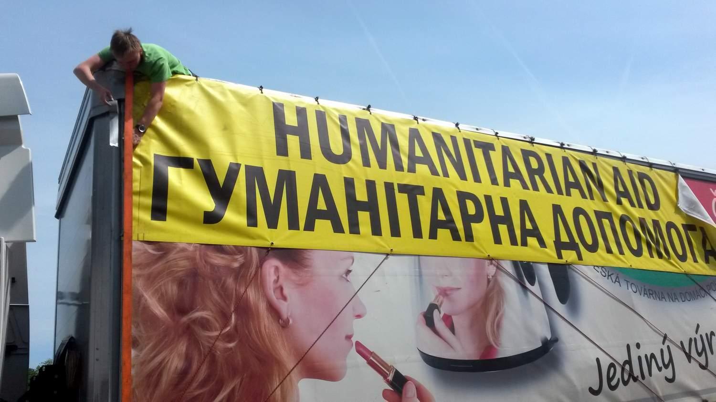 NESEHNUTÍ vysílá humanitární pomoc do Charkova