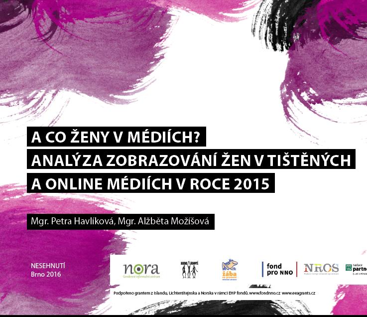 Ženy v českém zpravodajství? Jen jedna z pěti