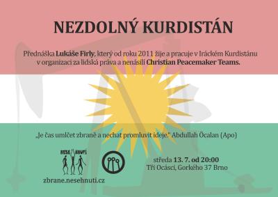 Přednáška: Nezdolný Kurdistán