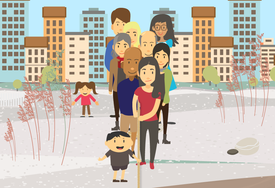 Interaktivní web otevírá téma budování komunit