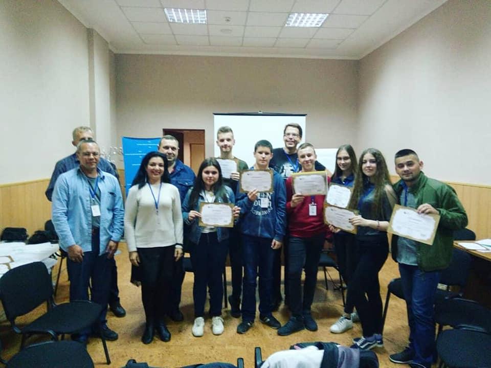 Pátý rok v Ukrajině: za lepší vzdělávání a životní prostředí