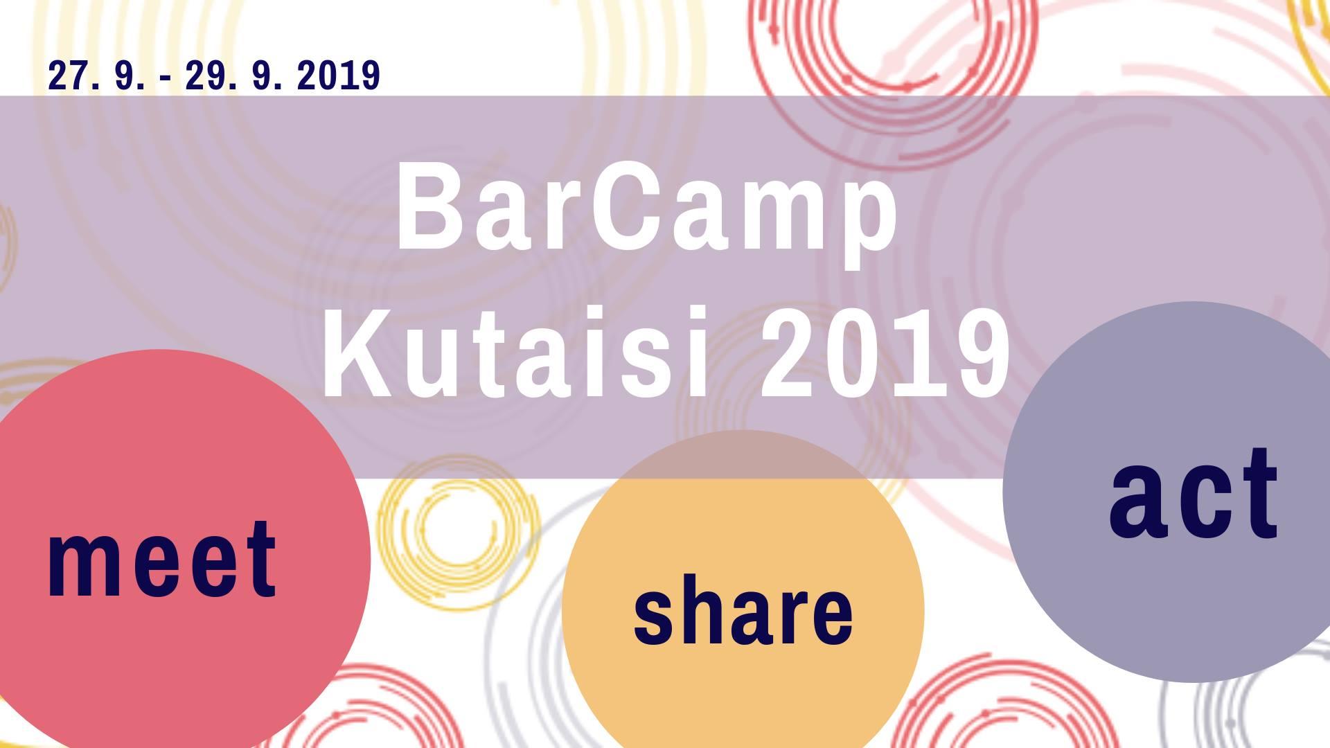 V Gruzii začíná mezinárodní BarCamp