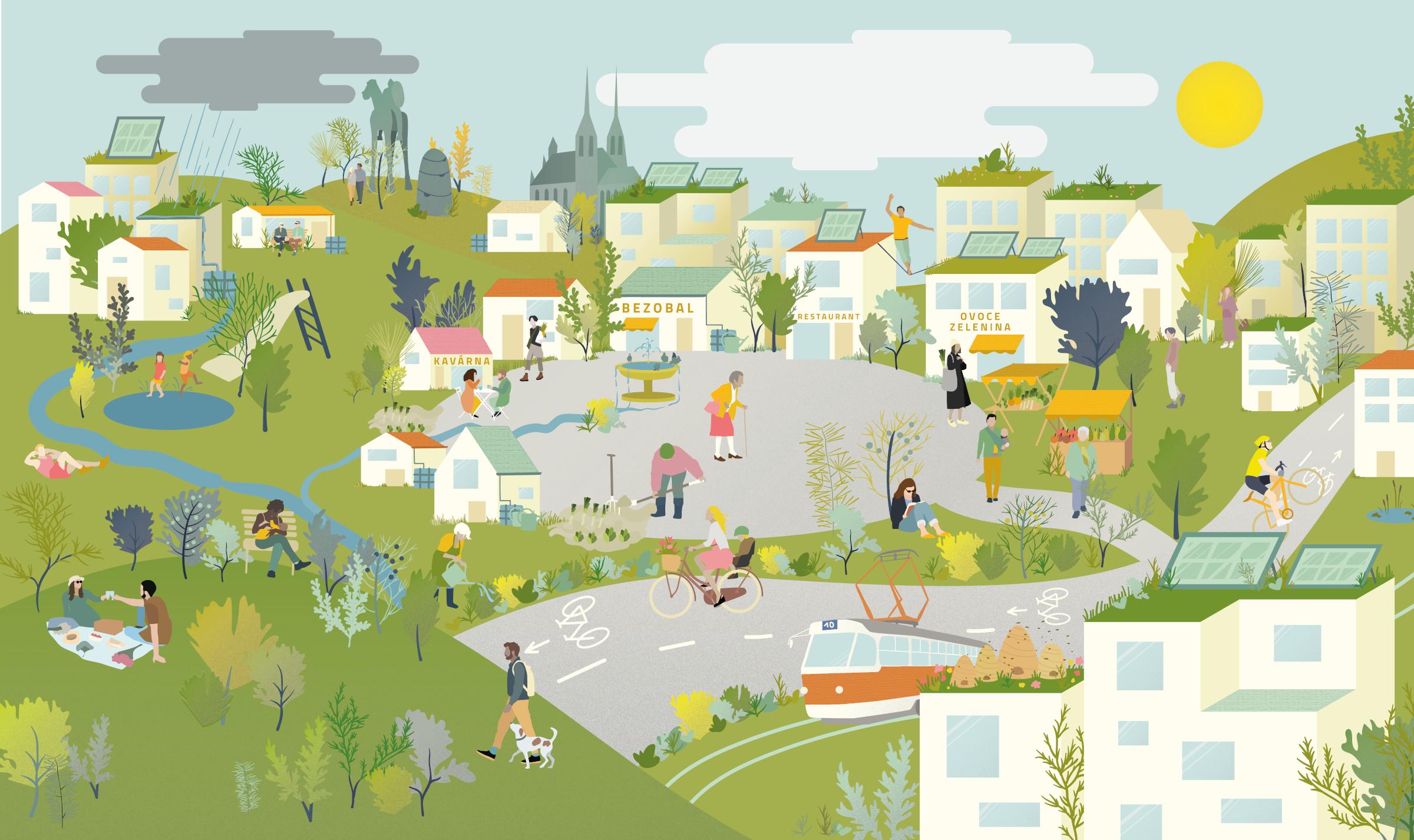Pracovní nabídka: NESEHNUTÍ Projektový*á koordinátor*ka a poradce*kyně pro udržitelná města