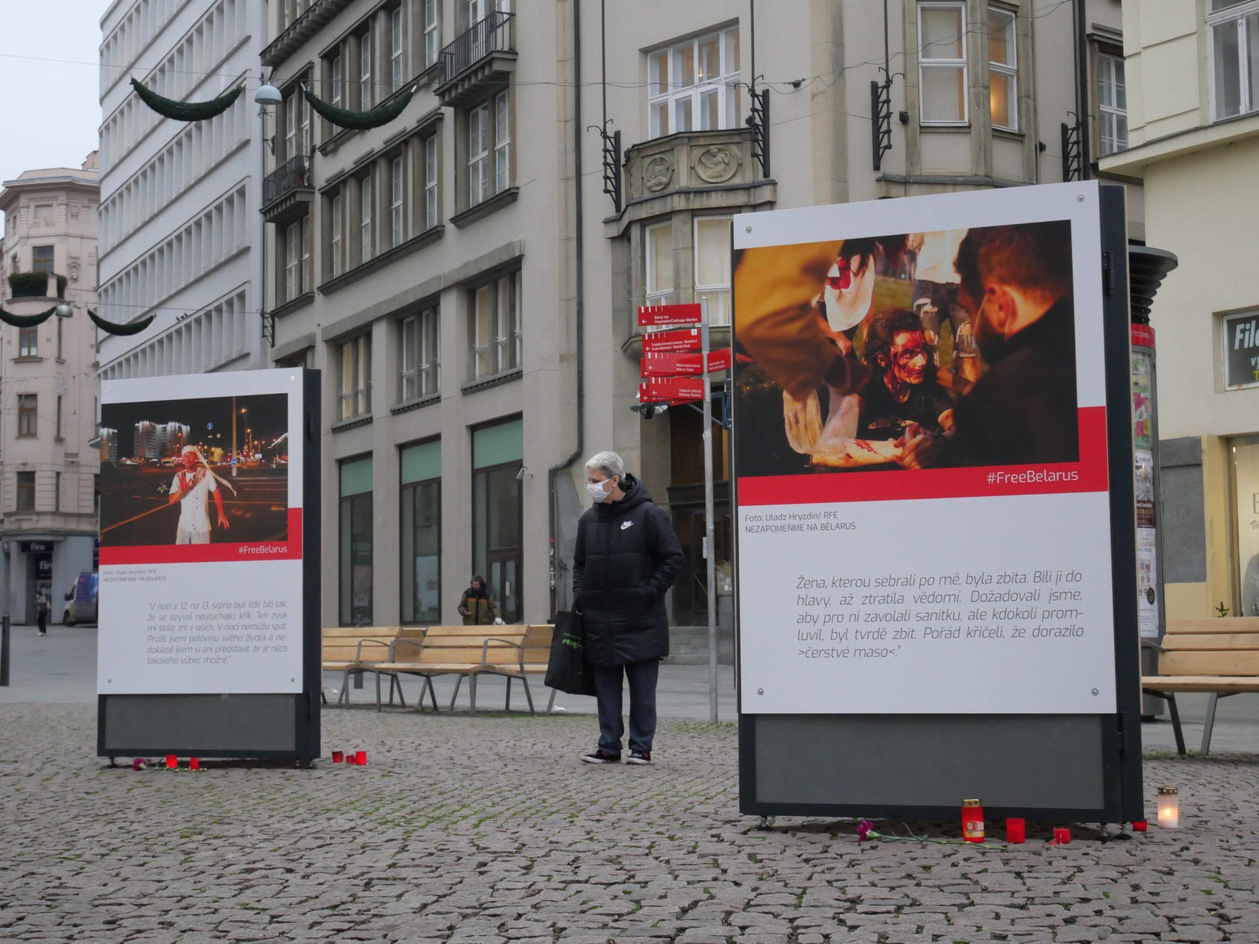 Z běloruských ulic na brněnské náměstí