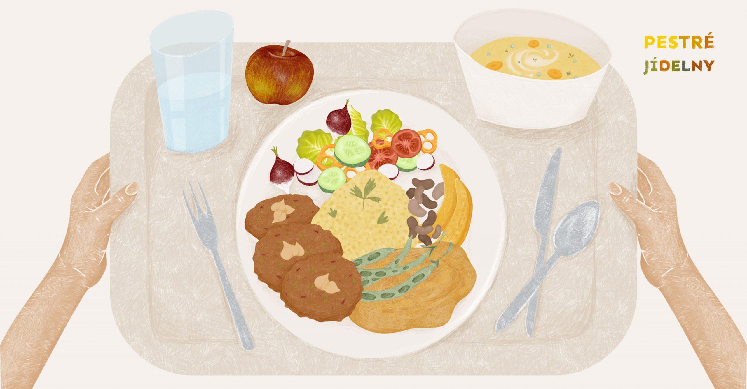 Pestré jídelny chtějí zdravou školní kuchyni pro všechny
